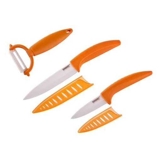 Banquet 3dílná sada keramických nožů GOURMET CERAMIA ARANCIA BANQUET