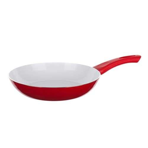 Banquet Keramická pánev pr. 20 cm výška 3,8 cm - Bílý 2 vrstvý keramický povrch EASYFLON - Red Culinaria