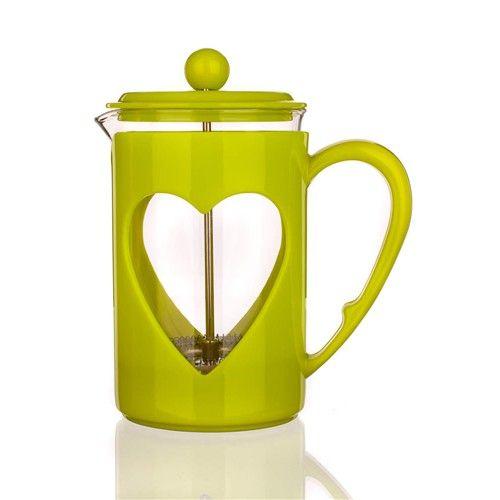 Banquet Konvice na kávu DARBY 800ml zelená pro tzv. French press - Kafeterie