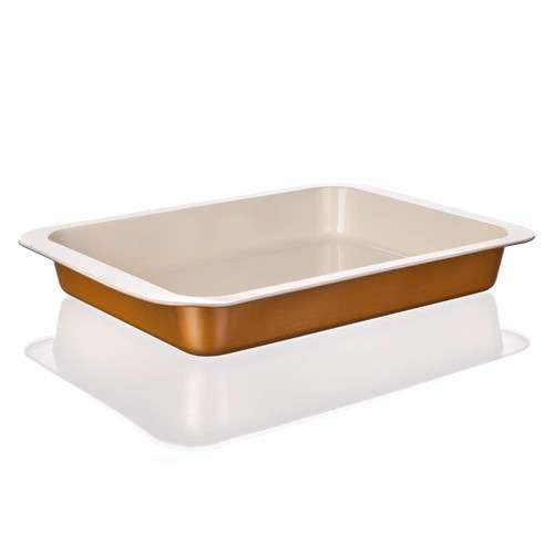 Banquet Plech pečící hluboký 36,5 x 27 x 5 cm Gourmet Ceramia BANQUET