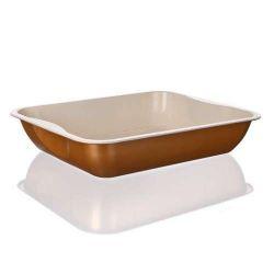 Plech pečící hluboký keramický 39,5 x 33,5 x 7,7 cm Gourmet Ceramia BANQUET