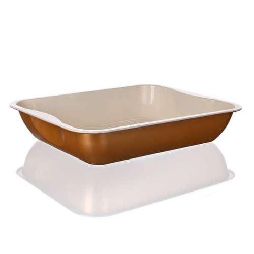 Banquet Plech pečící hluboký keramický 39,5 x 33,5 x 7,7 cm Gourmet Ceramia BANQUET