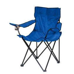 Rybářské křesílko FISH blue - modrý design - Skladací camping židle