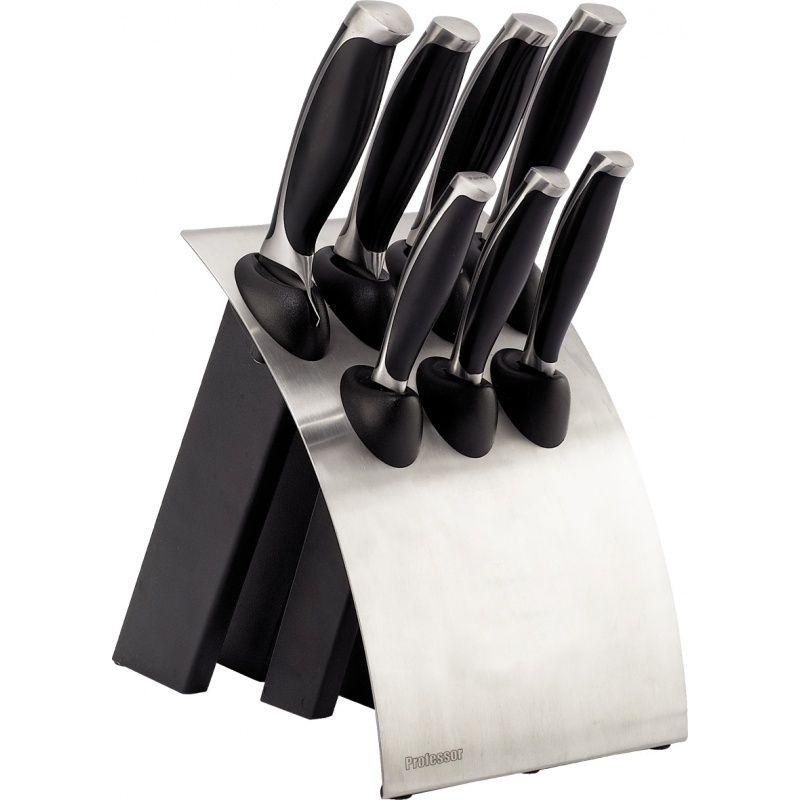 Sada nožů PROFESSOR P1127 v nerez bloku