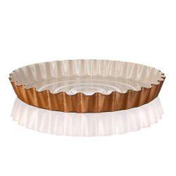 Vlnitá pečící forma na koláč 28,5x3,5 cm Gourmet Ceramia