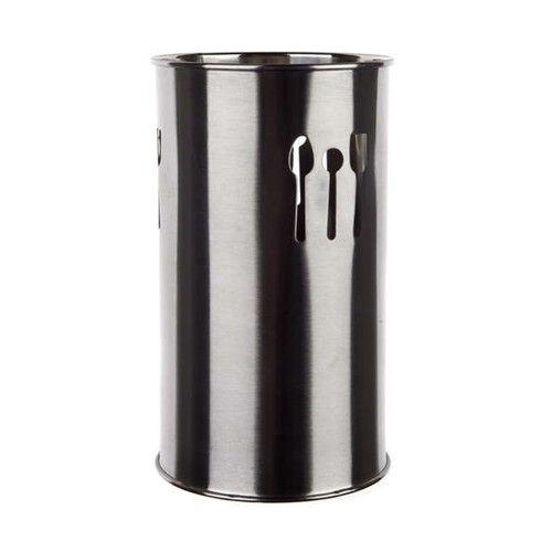 Nerezový stojan na kuchyňské nářadí, výška18,5 cm BANQUET