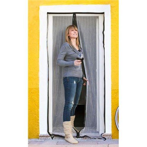 Brilanz Síť na dveře proti hmyzu - bílá 100x210cm