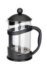Konvice na kávu nebo čaj se sítkem Florina 800 ml černá pro tzv. French press