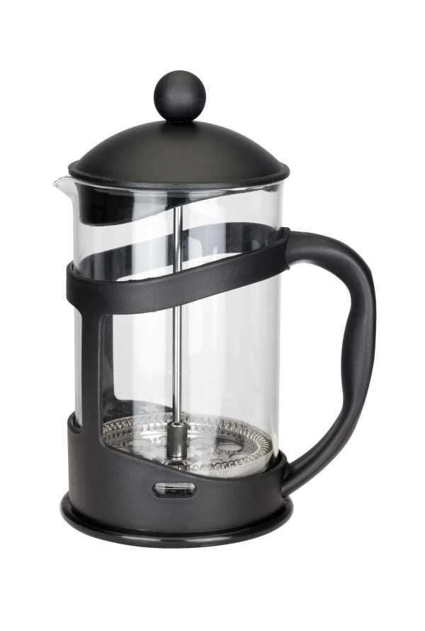 Konvice na kávu nebo čaj se sítkem Florina 800 ml černá pro tzv. French press . Kafeteria