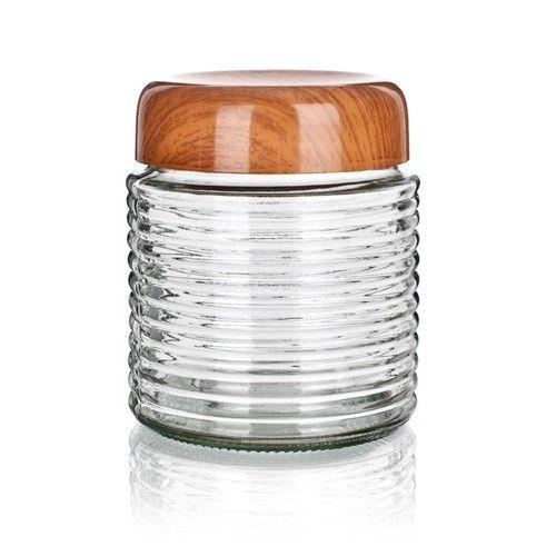 Banquet Doza PLUS 1000 ml skleněná s plastovým víkem