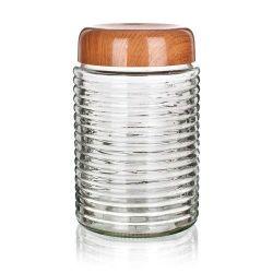 Doza PLUS 1500 ml skleněná s plastovým víkem