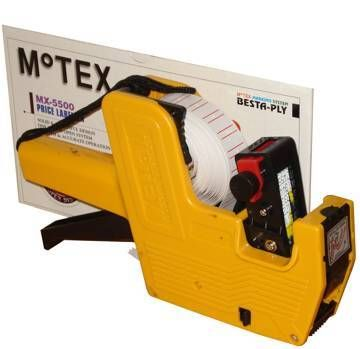 Etiketovací kleště jednořádkové MOTEX MX-5500 + Barvící váleček zdarma