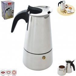 Kafetier nerezový espresso maker Kávovar 0,45l