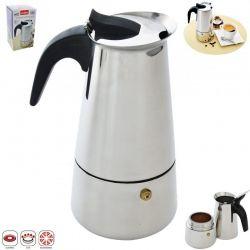 Kafetier nerezový espresso maker Kávovar 0,65l