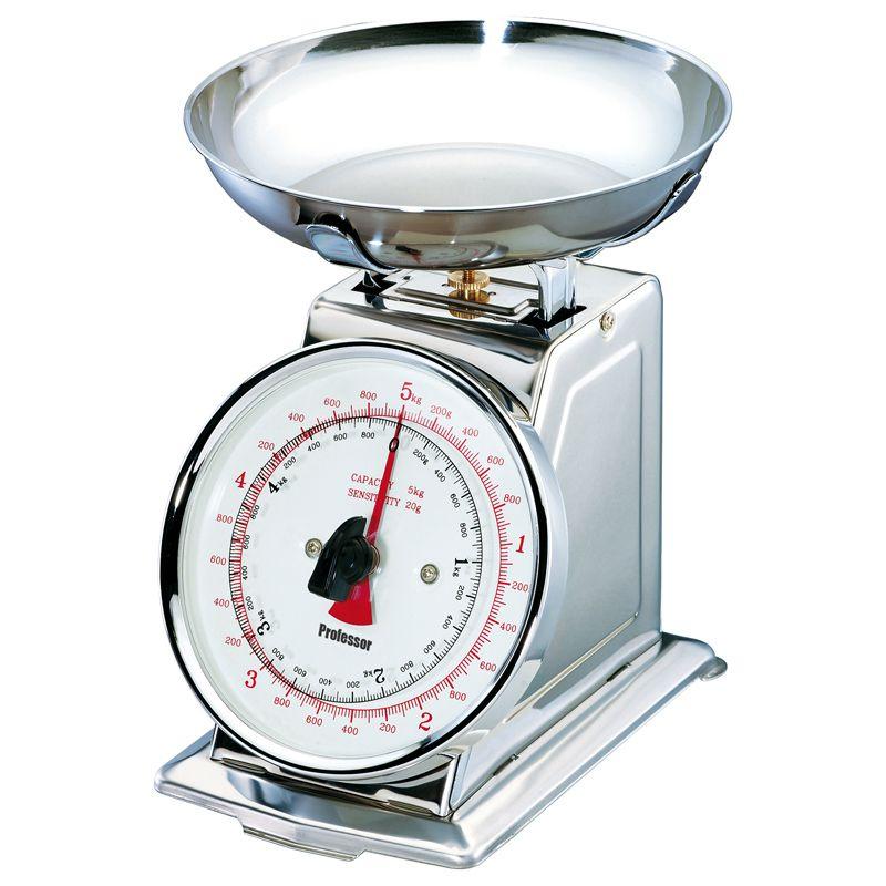 Nerezová mechanická kuchyňská váha Professor KV513X