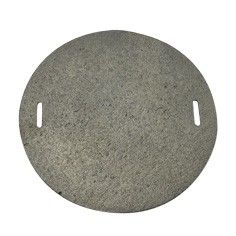 Plotýnka plotna kruhová na sporák 17 cm litina