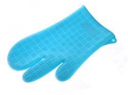 Silikonová chňapka dvaprsty - Modrá