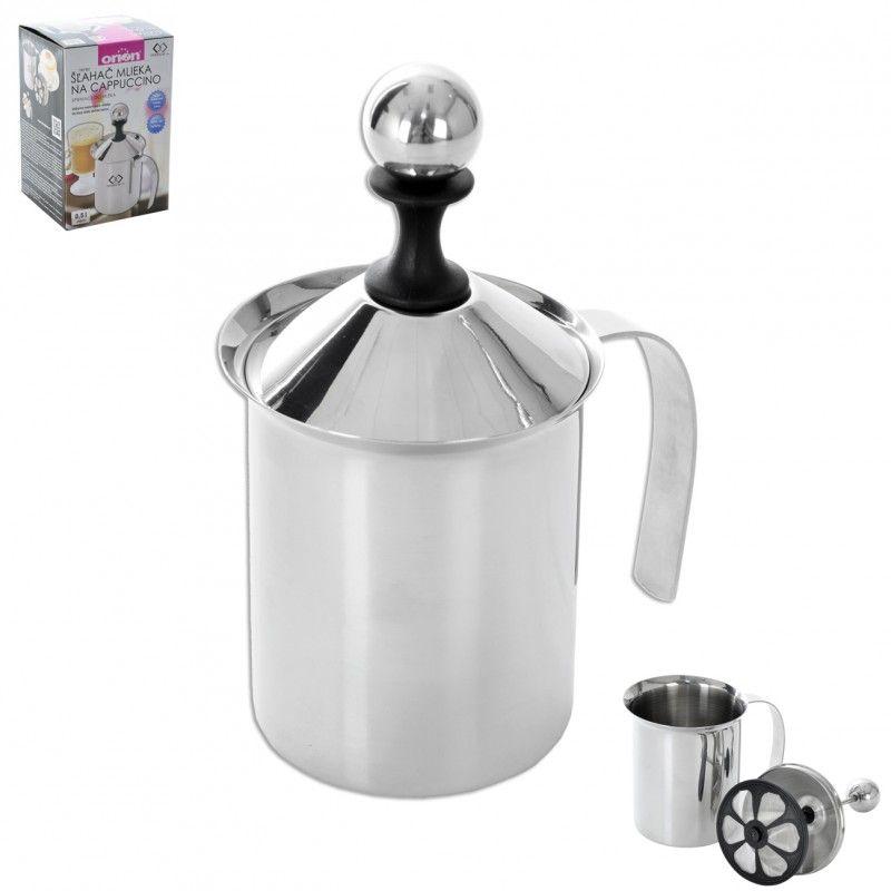 Zpěňovač mléka na Kapučíno - cappuccino - napěňovač nerezový šlehač