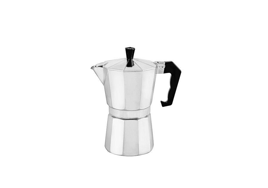 Florina Kafetier hliníkový espresso maker Kávovar 3 šálky alu