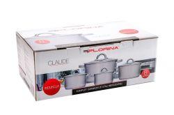 8 dílná sada nerez nádobí s poklicí Claude Florina