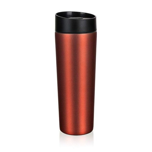 Cestovní hrnek termohrnek-termoska TRAVELER 300 ml, červená Banquet