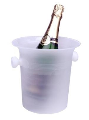 Chladící nádoba na šampaňské a víno plast