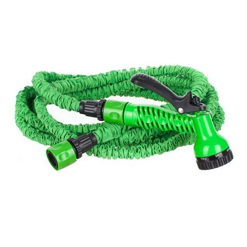 Happy green Natahovací hadice 15m - zahradní flexibilní hadice HAPPY GREEN