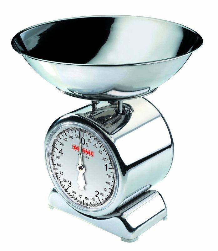 Nerezová mechanická kuchyňská váha Soehnle SILVIA