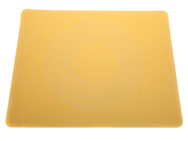 Silikonový val 50 x 40 cm žluty - silikonová podložka