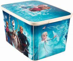 Úložný box L frozen - Ledové království  Curver 40 x 30 x 24 cm