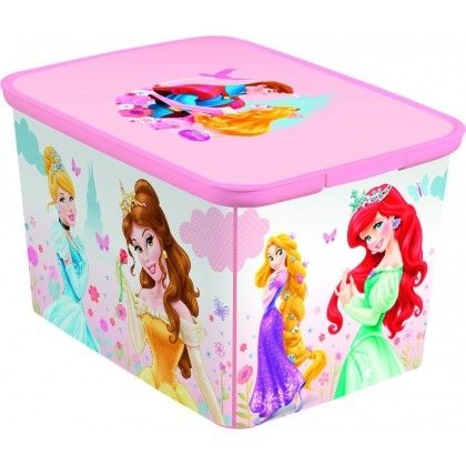 CURVER Úložný box L princess Curver 40 x 30 x 24 cm