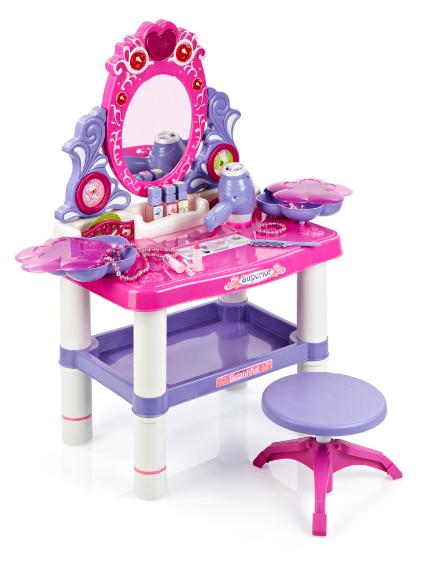 Dětský svět Hrací set dětský kosmetický toaletní stolek
