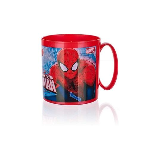 Micro hrnek 350ml, Spiderman Banquet