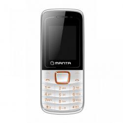 Mobilní tlačítkový telefon DUAL SIM Manta MS1701, bílo-oranžový