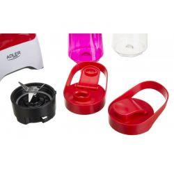 Smoothie Maker - Mixér nápojový ADLER AD 4054 Red - 2 x nádoba